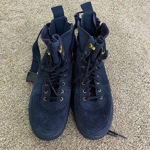 BRAND NEW navy AF1, youth 7